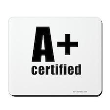 A Plus Certified Mousepad