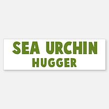 Sea Urchin Hugger Bumper Bumper Bumper Sticker