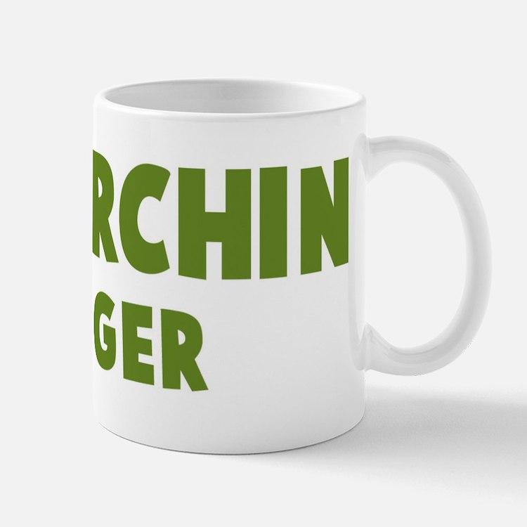 Sea Urchin Hugger Mug