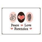 Peace Love Forensics Banner
