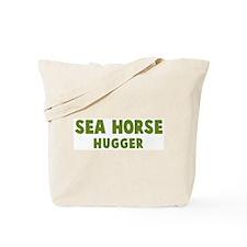 Sea Horse Hugger Tote Bag