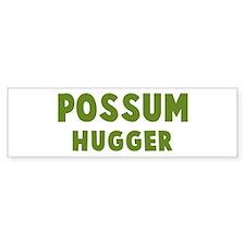Possum Hugger Bumper Bumper Sticker
