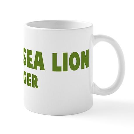 Steller Sea Lion Hugger Mug