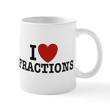 I Love Fractions Mug