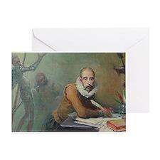Cervantes Greeting Card