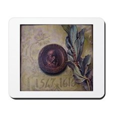 Cervantes coin stamp Mousepad.