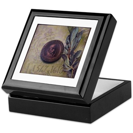 Cervantes coin Keepsake Box