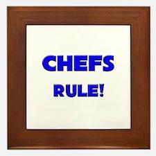 Chefs Rule! Framed Tile