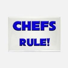 Chefs Rule! Rectangle Magnet