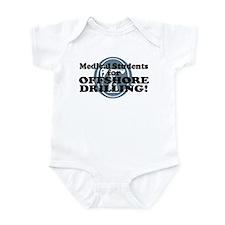 Med Students For Offshore Drilling Infant Bodysuit