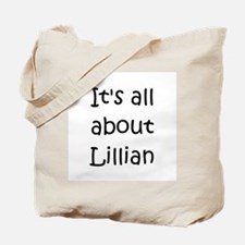 Cute Lillian Tote Bag