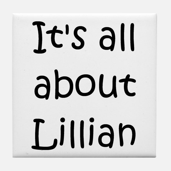 Unique Lillian Tile Coaster