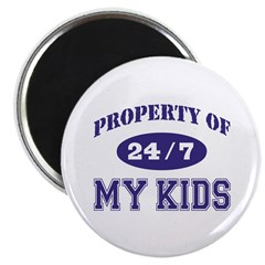 Property of my Kids Magnet