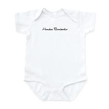 Homeless Bombardier Infant Bodysuit