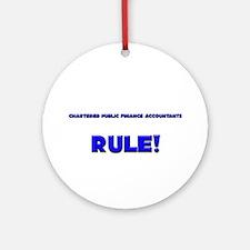 Chartered Public Finance Accountants Rule! Ornamen