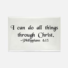 """Do All Things"" Rectangle Magnet (10 pack)"