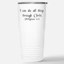 """""""Do All Things"""" Travel Mug"""