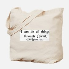 """""""Do All Things"""" Tote Bag"""