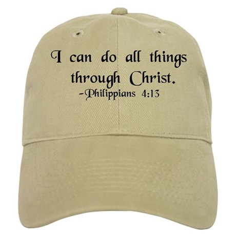 """""""Do All Things"""" Cap"""
