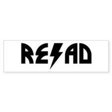 Read Rock Bumper Bumper Sticker