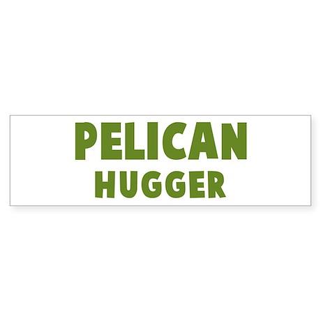 Pelican Hugger Bumper Sticker