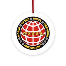 WSBBA Round Holiday Ornament