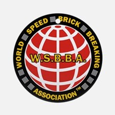 WSBBA Round Holiday Ornament