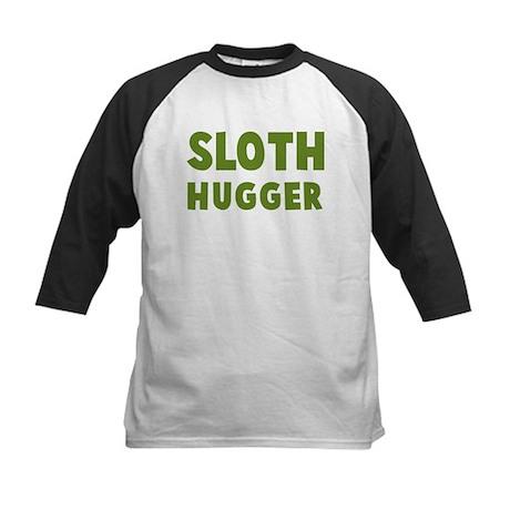 Sloth Hugger Kids Baseball Jersey