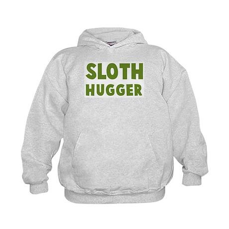 Sloth Hugger Kids Hoodie