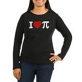 Mathematical love Long Sleeve T Shirts