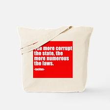 more laws Tote Bag