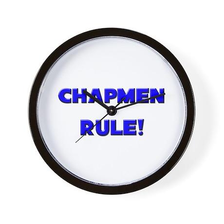 Chapmen Rule! Wall Clock