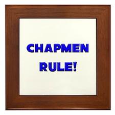 Chapmen Rule! Framed Tile