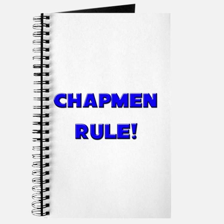 Chapmen Rule! Journal