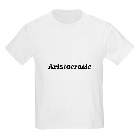 Aristocratic Kids T-Shirt