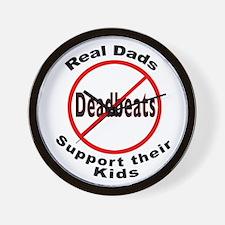 REAL DADS Wall Clock