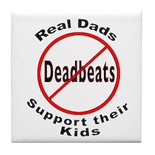 REAL DADS Tile Coaster