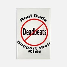 REAL DADS Rectangle Magnet