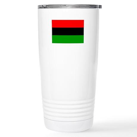 Afro American flag Stainless Steel Travel Mug