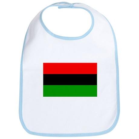 Afro American flag Bib