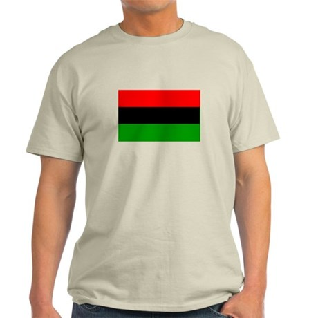 Afro American flag Light T-Shirt
