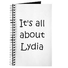 Cute Lydia Journal