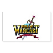 World of Warcast Rectangle Decal
