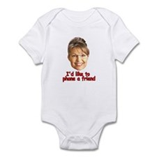 Cute Sarah palin Infant Bodysuit