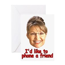 Cool Sarah palin Greeting Card