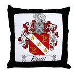 Rigotti Family Crest Throw Pillow