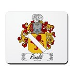 Rinaldi Family Crest Mousepad