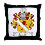 Rinaldi Family Crest Throw Pillow