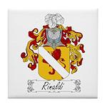 Rinaldi Family Crest Tile Coaster