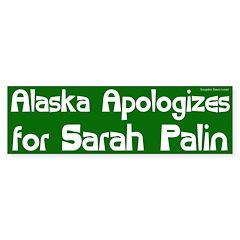 Alaska Apologizes for Sarah Palin bumper sticker